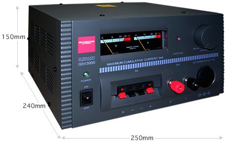 【送料無料】第一電波工業(DIAMOND) リニアシリーズ型直流安定化電源 GSV3000