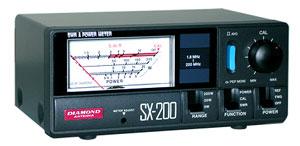第一電波工業(DIAMOND) 通過形 SWR・パワー計 SX-200(SX200)