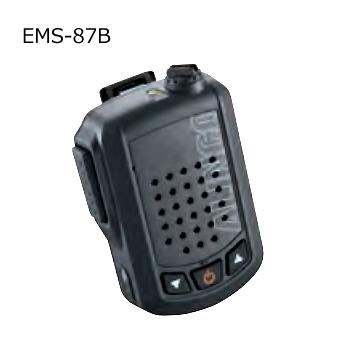 ワイヤレス スピーカーマイク 音声出力3W ALINCO 新発売 EMS-87B アルインコ 予約 EMS87B