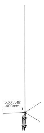 COMET(コメット) 144/430MHz デュアルバンドアンテナ GP-5