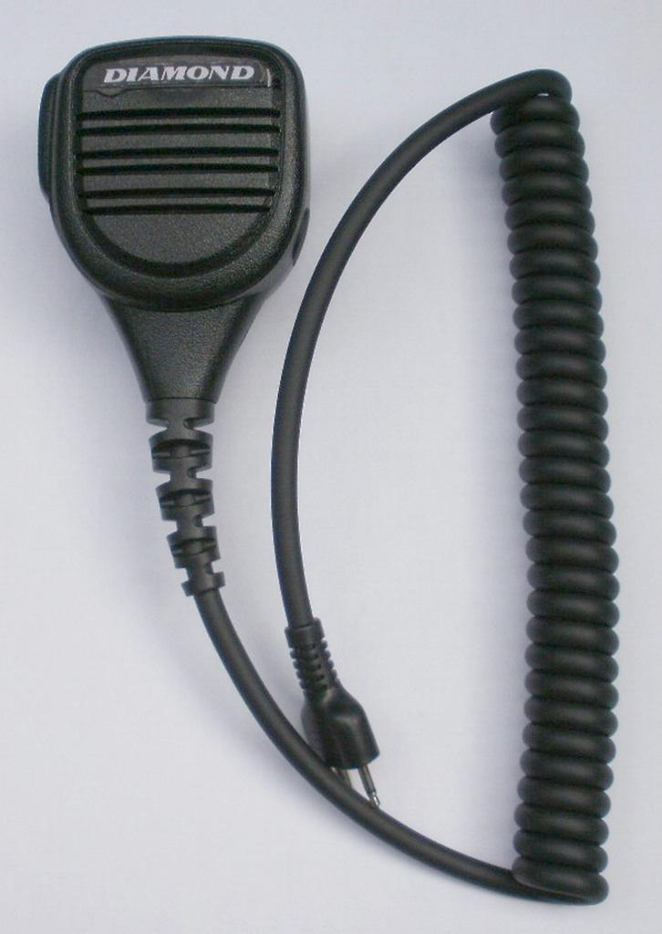 第一電波工業(DIAMOND) MS900W-ID デジタル簡易無線(登録局)用 防滴型ハンディー用スピーカーマイク【IC-DPR5用】