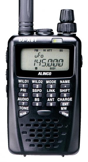 【税・送料・代引手数料全て込み】 ALINCO(アルインコ) DJ-X81【ノーマル・単品】