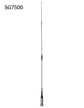 第一電波工業(DIAMOND) 144/430MHz帯高利得2バンドモービルアンテナ(レピーター対応型) 《300MHz帯受信対応》 D☆STAR対応 SG7500(SG-7500)