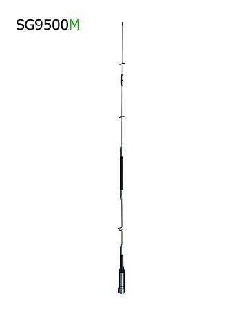 第一電波工業(DIAMOND) 144/430/1200MHz帯高利得3バンドモービルアンテナ(レピーター対応型) D☆STAR対応 SG9500M