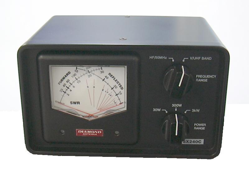 クロスメーター 交差型電力計 大好評です 第一電波工業 SX-240C 卸売り DIAMOND SX240C