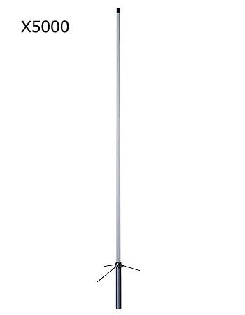 第一電波工業(DIAMOND) 144/430/1200MHz帯高利得3バンドグランドプレーンアンテナ (レピーター対応型) グラスファイバー製 X5000(X-5000)