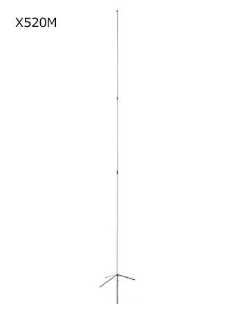 第一電波工業(DIAMOND) 144/430MHz帯高利得2バンドグランドプレーンアンテナ X520M