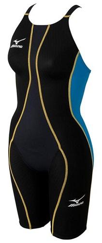 競技水着N2JG4430 73女子ジュニアハーフスパッツmizunoMUGHTY SONIC R