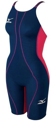 競技水着N2JG4430 88女子ジュニアハーフスパッツmizunoMUGHTY SONIC R