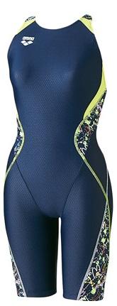 競技水着 ARN-7072W NVGN女子ハーフスパッツ arena アリーナAQUA RACING FINA承認