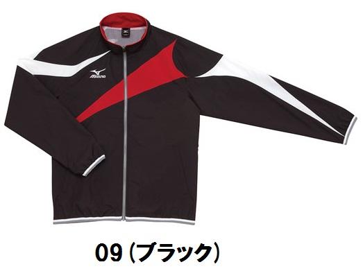 N2JC9001 09 ブラック ミズノウェア  mizuno トレーニングクロスシャツ