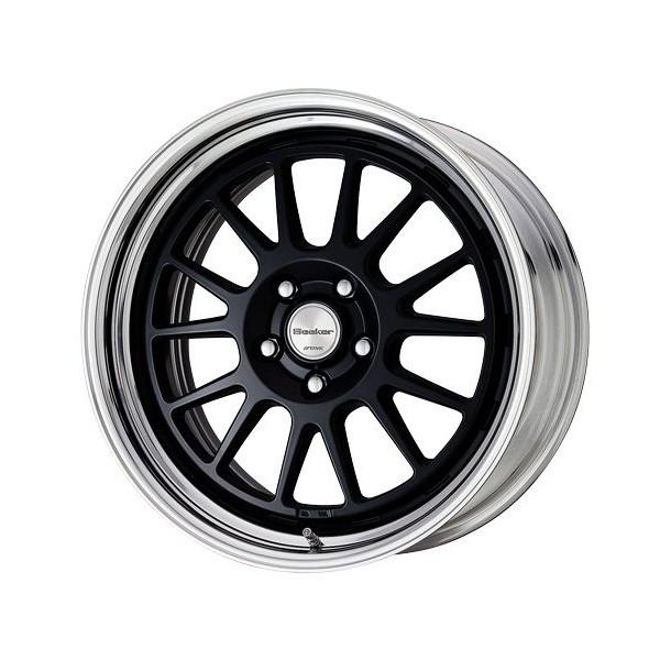 タイヤ ホイール 4本セット 205/40R17 ワーク シーカーFX 7.00-17 100-4H 特選輸入タイヤ フィット ノート ヴィッツ 他 MBLK