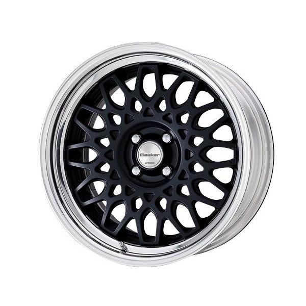 タイヤ ホイール 4本セット 205/40R17 ワーク シーカーCX 7.00-17 100-4H 特選輸入タイヤ フィット ノート ヴィッツ 他 MBLK
