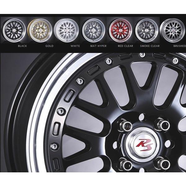 タイヤ ホイール 4本セット 165/45R16 クリムソン RS NEO CLASSIC SCENES RS WP MAXI MONO BLOCK 5.50-16 100-4H ハンコック ワゴンR タント ムーヴ BLK