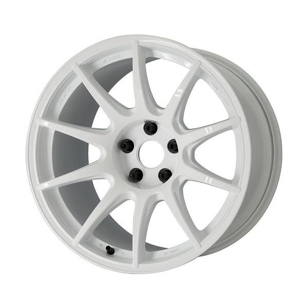 タイヤ ホイール 4本セット 245/40R18 ワーク M・C・O Racing TYPECS 10.00-18 114.3-5H グッドイヤー イーグルレブスペック RS-02 スカイライン GT-R WHT