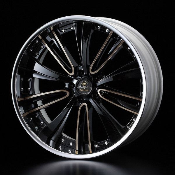 タイヤ ホイール 4本セット 245/40R19 ウェッズ クレンツェ ヴォルテイル 8.50-19 120-5H 特選輸入タイヤ ホンダ レジェンド KC系 KB系 BP/BRZC