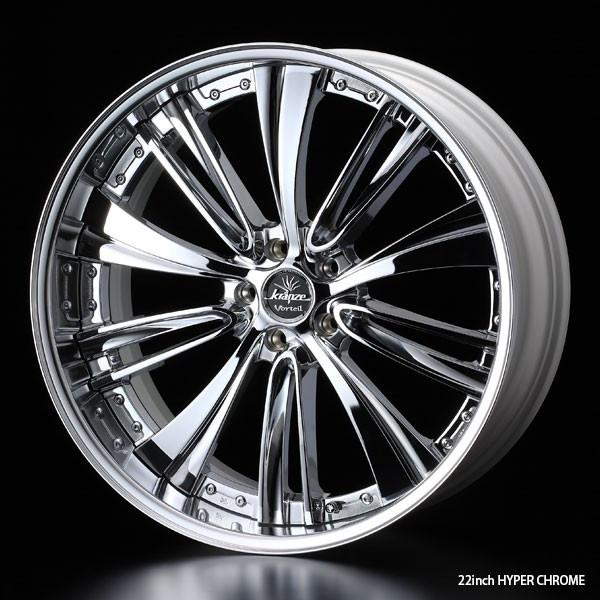 タイヤ ホイール 4本セット 245/40R19 ウェッズ クレンツェ ヴォルテイル 8.50-19 120-5H 特選輸入タイヤ ホンダ レジェンド KC系 KB系 HCRM