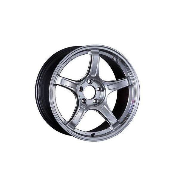 <title>タイヤ ホイール4本セット 225 45R18 SSR GTX03 クロームシルバー 8.00-18 114.3-5H 国内即発送 ヨコハマ アドバンFLEVA V701 スカイラインセダン 乗用車</title>