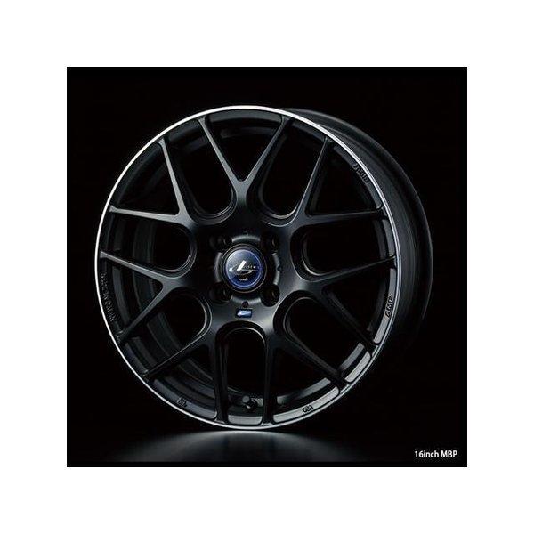 2018新作 タイヤ・ホイールセット 165/45R16 weds LeonisNAVIA06 ウェッズ レオニスナヴィア06 MBP 5.00-16 100-4H 特選輸入タイヤ プレオプラス