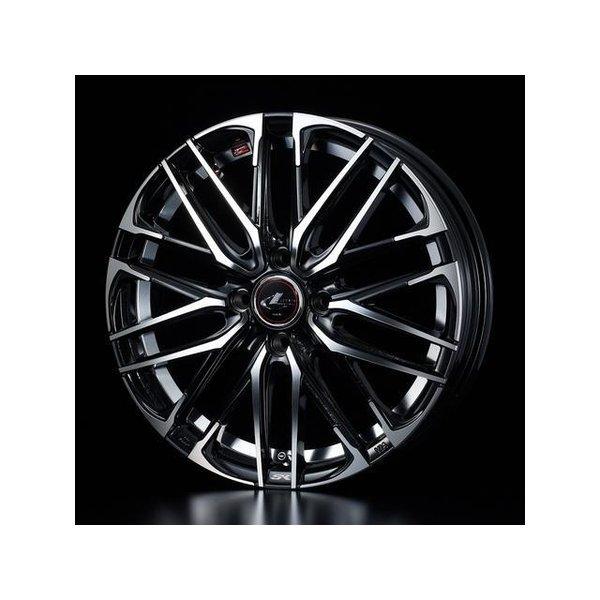 2018新作 タイヤ・ホイールセット 165/55R15 weds LeonisSK ウェッズ レオニスSK PBMC 4.50-15 100-4H 特選輸入タイヤ ミラアヴィ