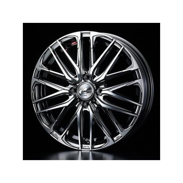 2018新作 タイヤ・ホイールセット 165/55R15 weds LeonisSK ウェッズ レオニスSK BMCMC 4.50-15 100-4H 特選輸入タイヤ ハイゼットキャディー