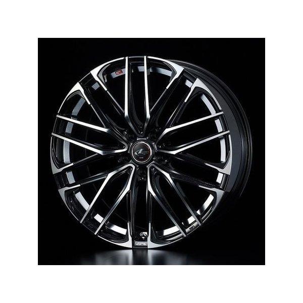 2018新作 タイヤ・ホイールセット 215/45R17 weds LeonisSK ウェッズ レオニスSK PBMC 7.00-17 100-5H 特選輸入タイヤ プリウスPHV