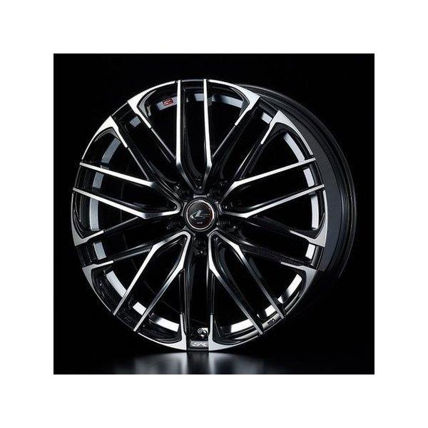 2018新作 タイヤ・ホイールセット 215/50R17 weds LeonisSK ウェッズ レオニスSK PBMC 6.50-17 114.3-5H 特選輸入タイヤ アテンザセダン