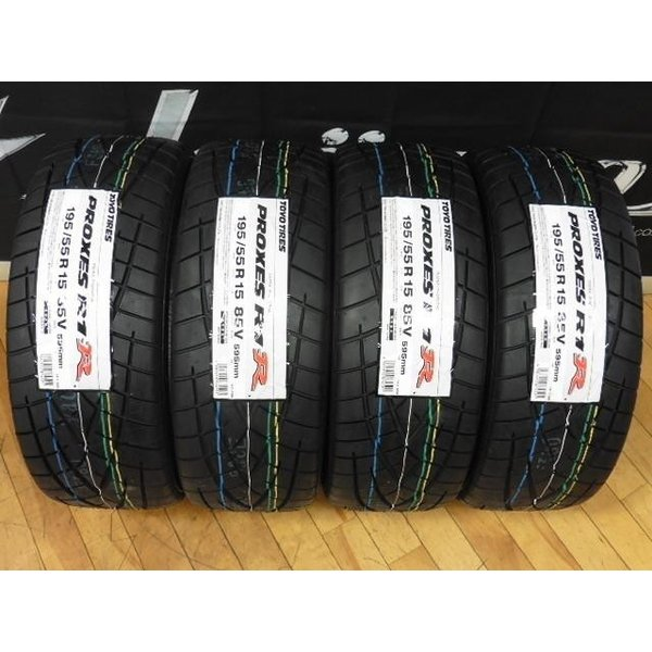 195/55R15 195/55-15 R1R ジムカーナ TOYO トーヨー 【4本SET】TOYO PROXES R1R プロクセス 195/55R15 195/55-15 トーヨー 4本セット価格 ジムカーナ サーキット 【メーカー取り寄せ品・要在庫確認必要】