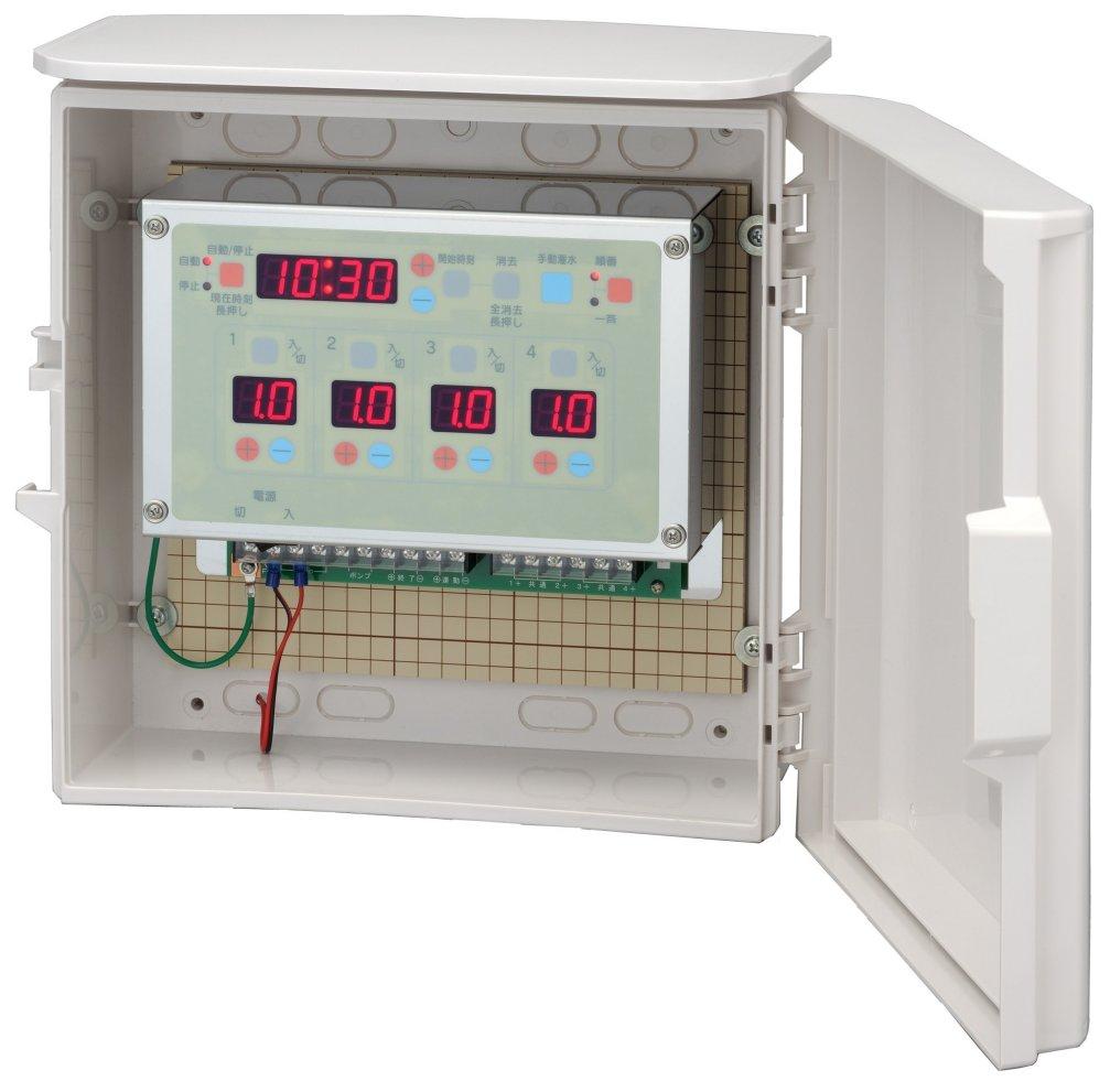 スナオタイマー オートレイン 自動かん水タイマー スナオ電気 FV411-AC24 送料無料