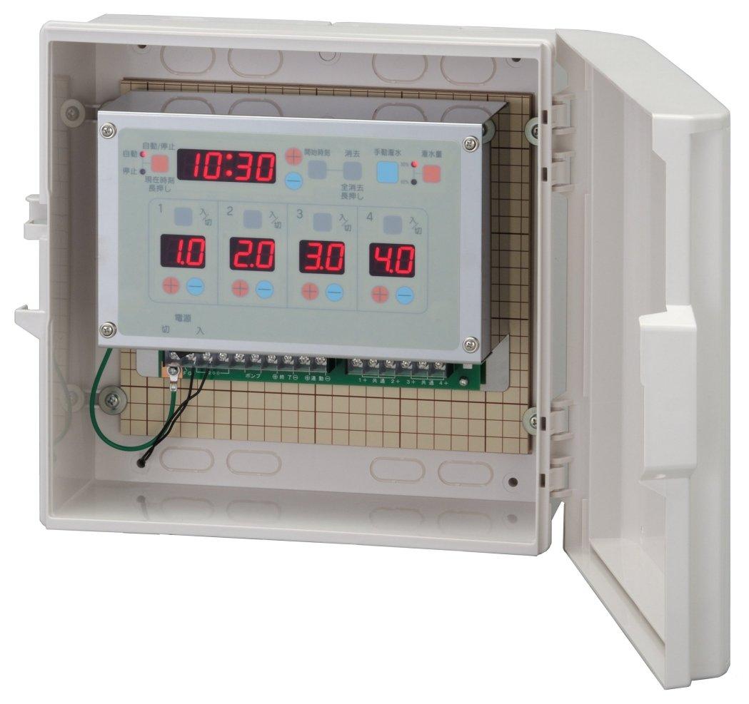 スナオタイマー オートレイン 自動かん水タイマー スナオ電気 FV412-AC24 送料無料