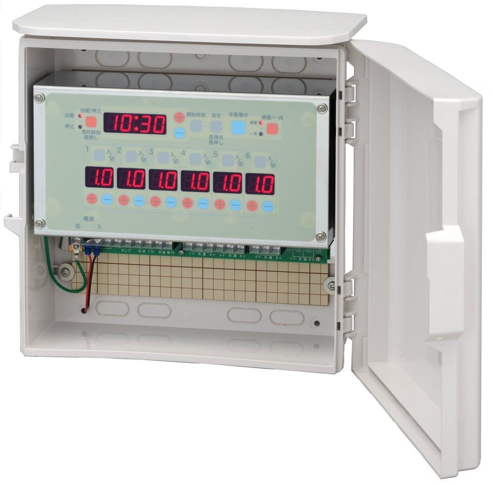 スナオタイマー オートレイン 自動かん水タイマー スナオ電気 FV601-AC24 送料無料