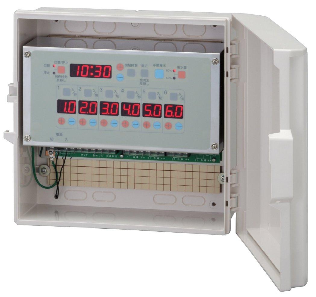 スナオタイマー オートレイン 自動かん水タイマー スナオ電気 FV613-AC24 送料無料