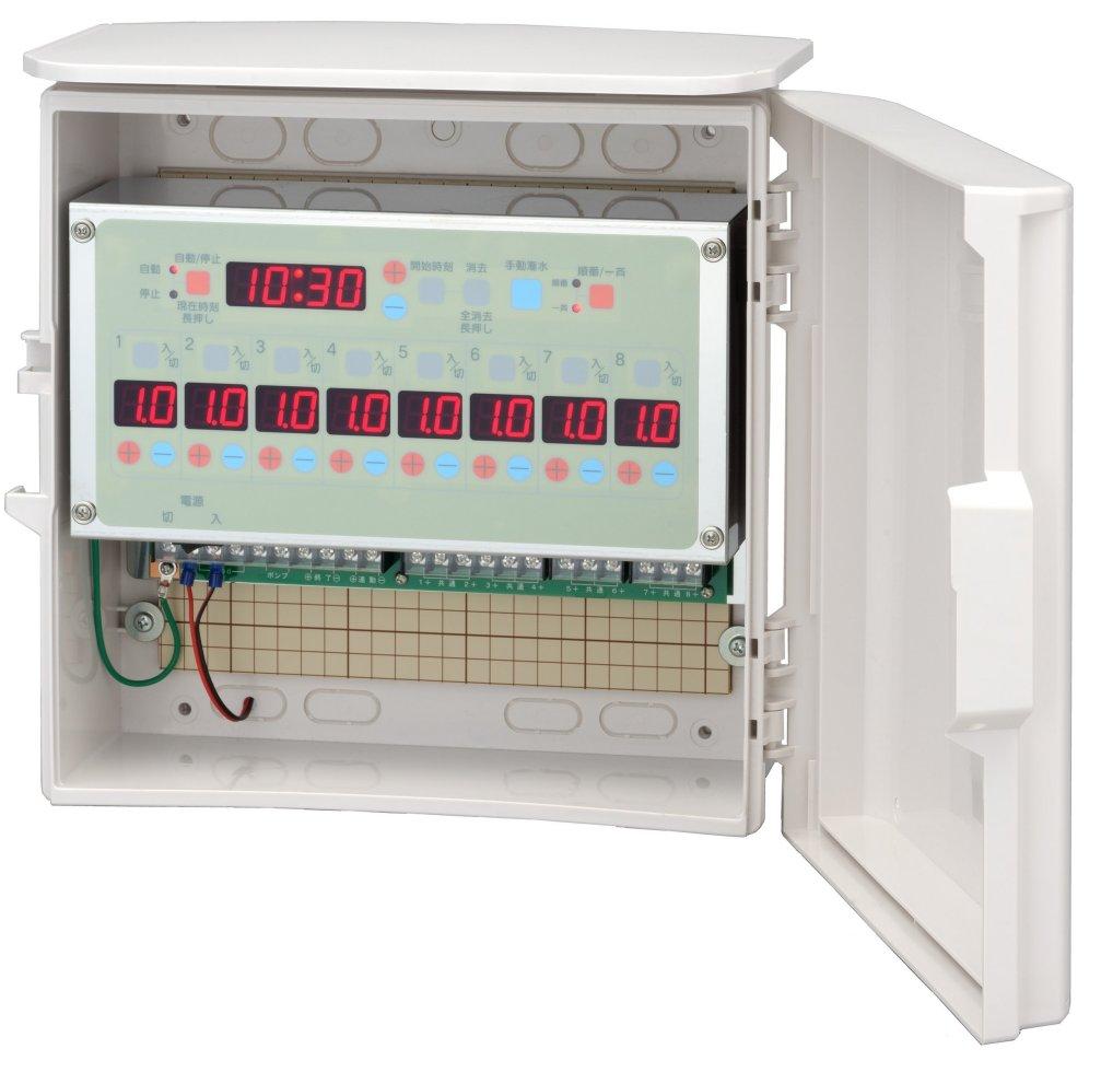 スナオタイマー オートレイン 自動かん水タイマー スナオ電気 FV801-DC24 送料無料