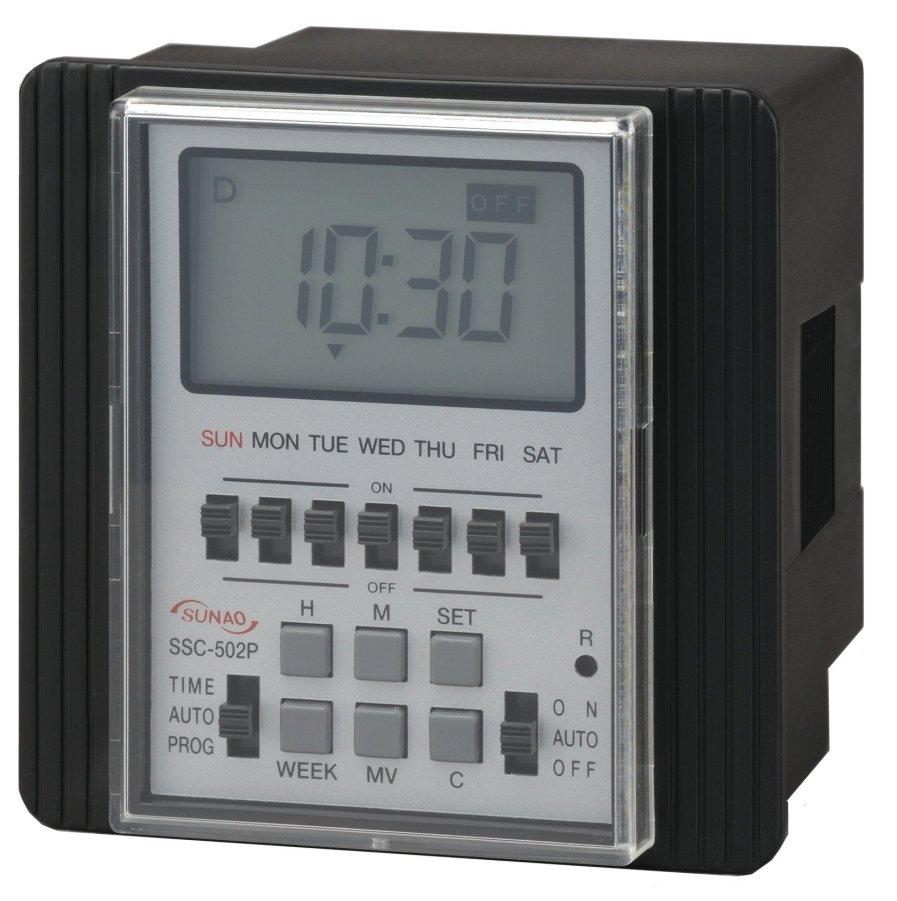 カレンダータイマー 週間タイマー スナオ電気 SSC-502P 送料無料