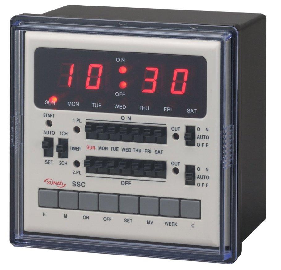 カレンダータイマー 週間タイマー スナオ電気 SSC-916M 送料無料