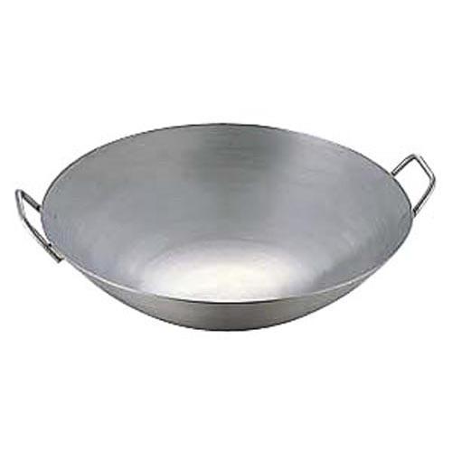 中華鍋 極厚チタン両手中華鍋 48cm 直径480x150 重量:2.5/業務用/新品