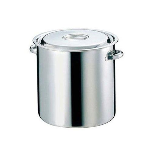 【業務用】【キッチンポット】EBM 18-8 寸胴鍋/キッチンポット パイプハンドル 51cm【送料無料】