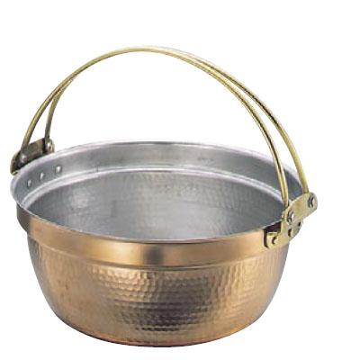 料理鍋 39cm 吊付 銅製 SW 【業務用】【送料無料】