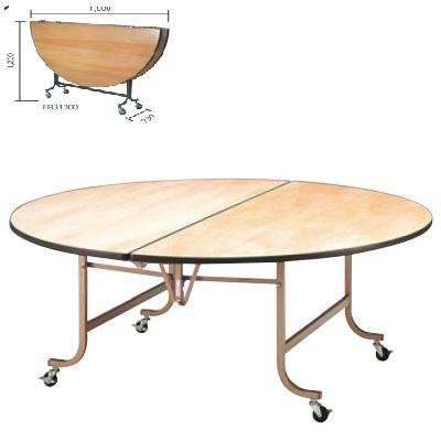 テーブル 洋風 【フライト 円 テーブル FRS1200】 FRS1200 高さ700 直径:1200 【業務用】【送料別】
