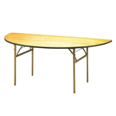 テーブル 洋風 【半円 テーブル KBH1500】 KBH1500 高さ700 直径:φ1/21,500 【業務用】【送料別】