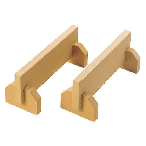 ニュー抗菌まな板用脚(2ヶ1組)45cm ベージュ/業務用/新品/小物送料対象商品