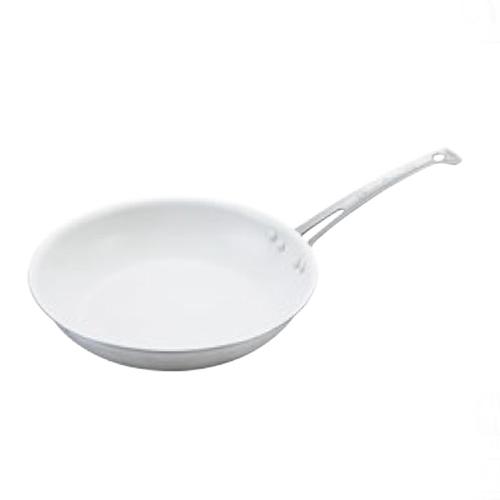 フライパン アルミキング シルクウェアスノーホワイトフライパン 浅型 21cm 外径:233、内径:210、板厚:3.1、深さ:46/業務用/新品