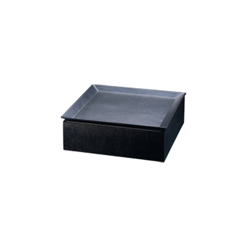 【和皿e-チェーフィング(黒布目スタンドS+和皿30cm)黒 PS-15051】 幅305×奥行305×高さ100(mm)【業務用】【グループA】
