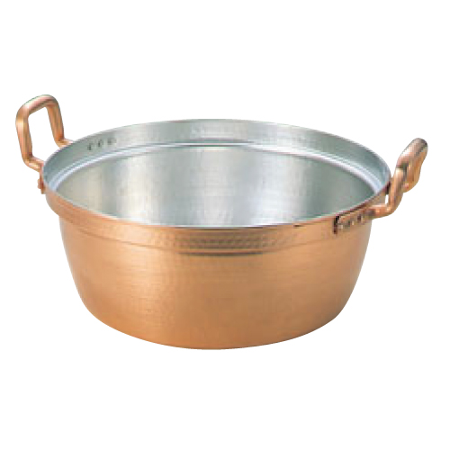 EBM 銅 段付鍋 錫引きあり 33cm/業務用/新品/送料無料 /テンポス