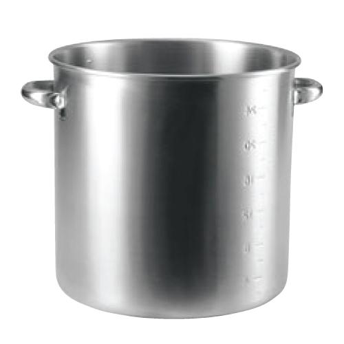 19-0 電磁対応 寸胴鍋(目盛付)45cm(蓋無)/業務用/新品/送料無料 /テンポス