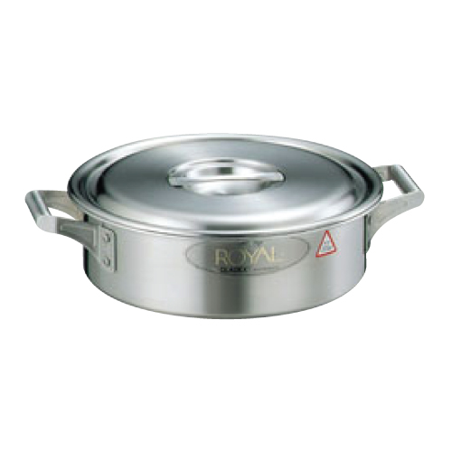 18-10 ロイヤル 外輪鍋 XSD-360 36cm/業務用/新品/送料無料 /テンポス
