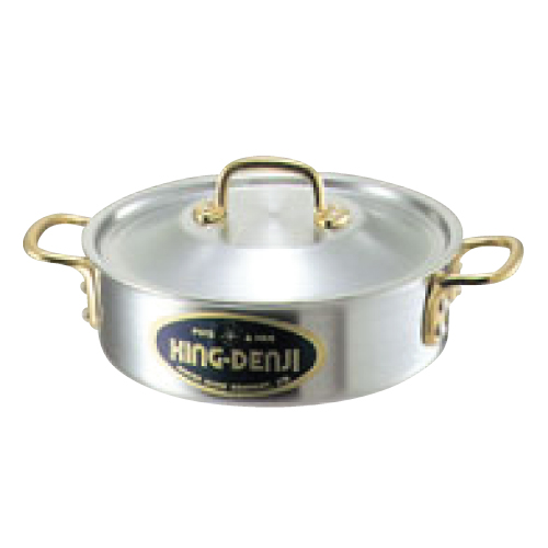 キングデンジ 外輪鍋(目盛付)18cm/業務用/新品