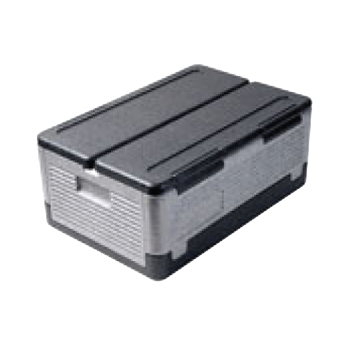 【サーモ フュ-チャ-ボックス GN1/1 フォルトボックス(グレイ/ブラック)TF10340】 幅600×奥行400×高さ250(mm)/業務用/グループA