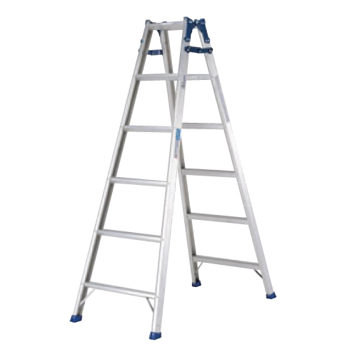 アルミ はしご兼用脚立 PRS-180W/業務用/新品/送料無料 /テンポス