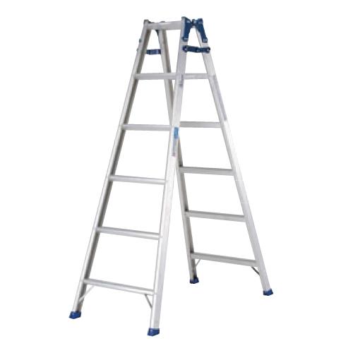 アルミ はしご兼用脚立 PRS-210W/業務用/新品/送料無料 /テンポス